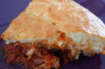 sloppy joe pie slice