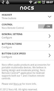 Nocs Remote Control™ - screenshot thumbnail