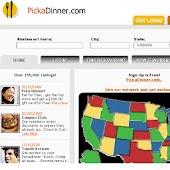 Pickadinner Restaurant Finder