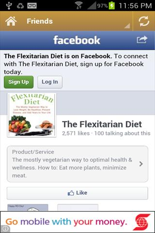 Flexitarian Diet. - screenshot