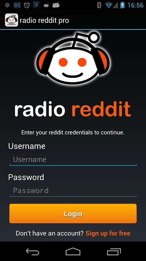 radio reddit (free) - screenshot