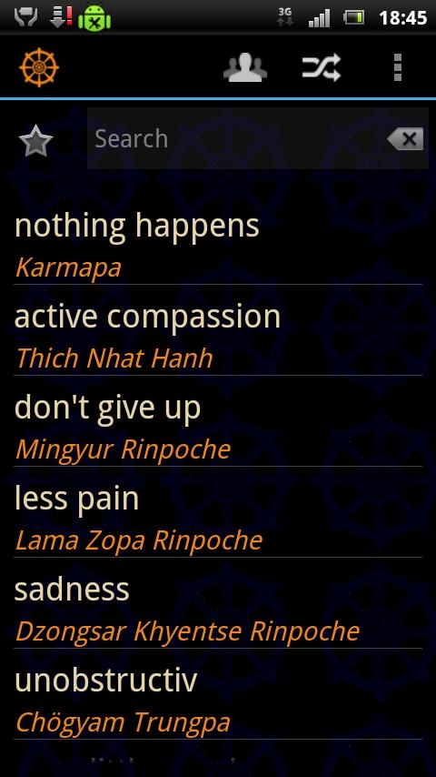 Just Dharma Quotes- screenshot