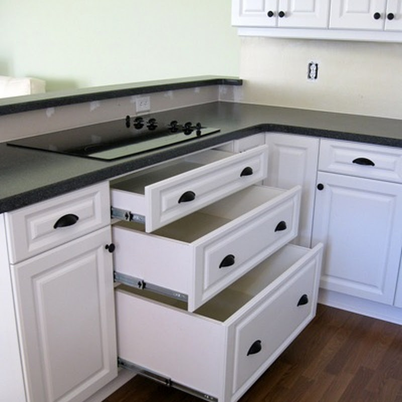 White cabinet hardware ideas cabinets matttroy for Kitchen cabinets handles ideas
