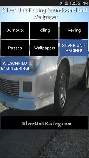 Silver Unit Racing Soundboard