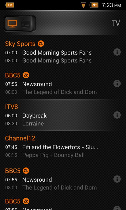 TV Mobilna M-T 5000 - screenshot