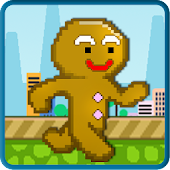 Cookie Man Run 2D