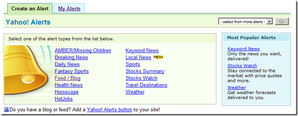 The EDRR Blog: Email Alerts to RSS Feeds