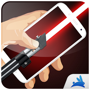 Neon lightsaber simulator for PC and MAC