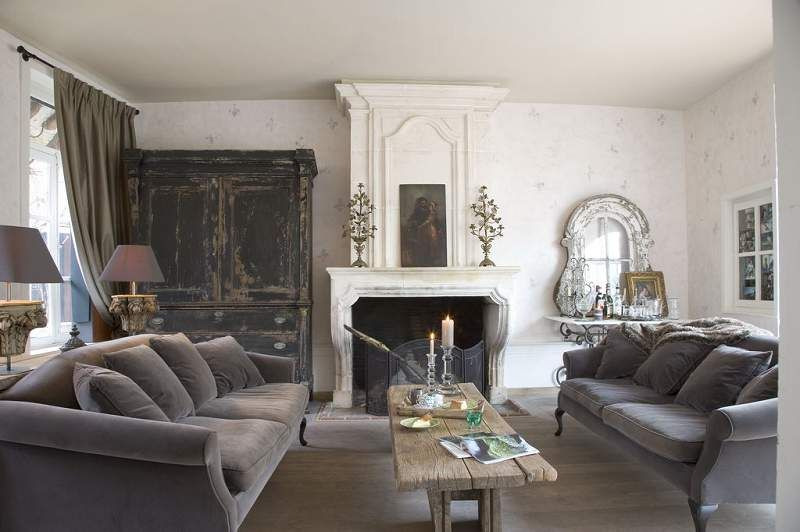 Loving The Double Grey Sofas In Here!