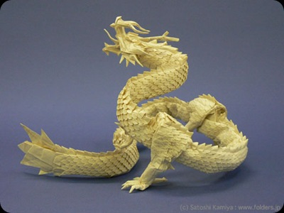 dragon-papel