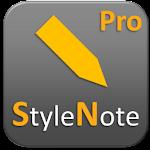 StyleNote Pro v2.2.2
