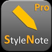 StyleNote Pro