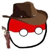 Polandball in the Wild West