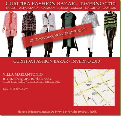 92bba5dadee0b Curitiba Fashion Bazar 2 - Divulgação Digital