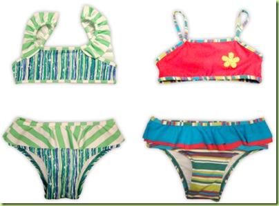 b994de5b206b Biquínis coloridos, com babados, flores e sungas que traduzem muita  personalidade, se juntaram com uma modelagem confortável e fácil de vestir.