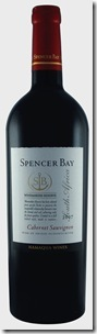 SPENCER BAY - Cab Sauv 2007