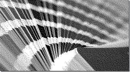 Imagen monocromática