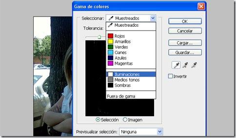 "Cuadro de diálogo ""Gama de Colores"""