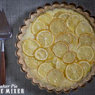 Meyer Lemon Shaker Pie Recipe from Tartine