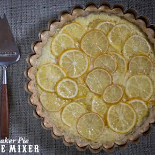 Meyer Lemon Shaker Pie Recipe from Tartine.