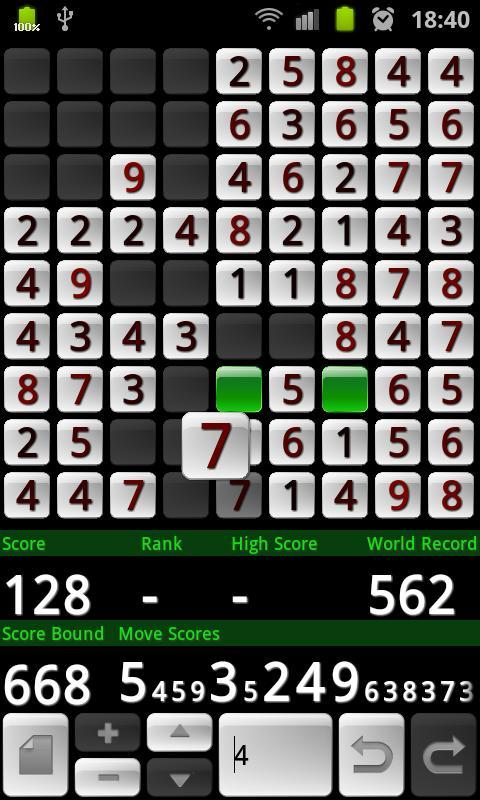 Number Puzzle - screenshot