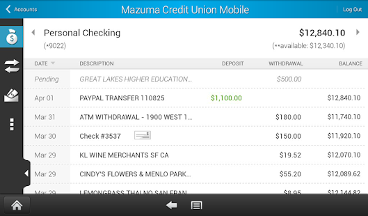 Mazuma Mobile Banking - screenshot thumbnail