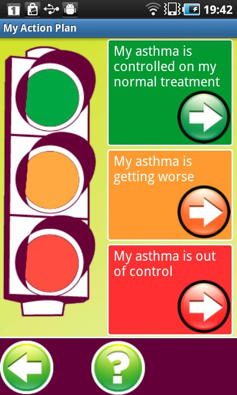 My Asthma Log - screenshot