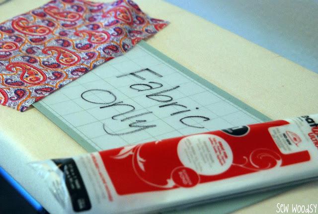 Tutorial: Cutting Heat-N-Bond Adhered Fabric with the Cricut
