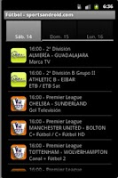 Screenshot of Futbol TV - sportsandroid.com
