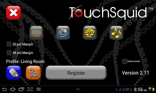 TS Tablet-S4 Universal Remote - screenshot thumbnail