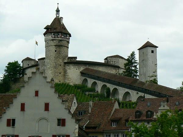 Obiective turistice Elvetia: Munot, Schaffhausen