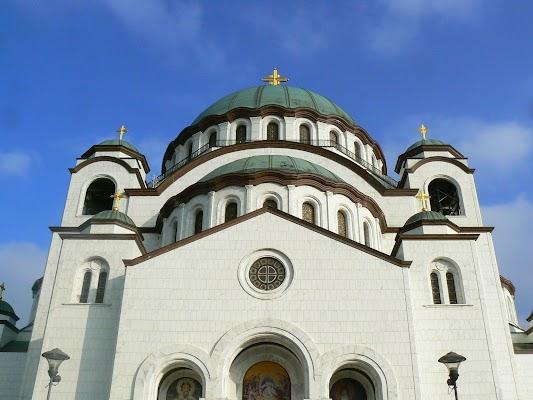 Imagini Serbia: Sveti Sava catedrala ortodoxa Belgrad