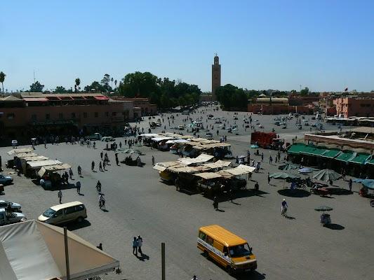 Imagini Maroc: Jema el-Fnaa Marrakech -