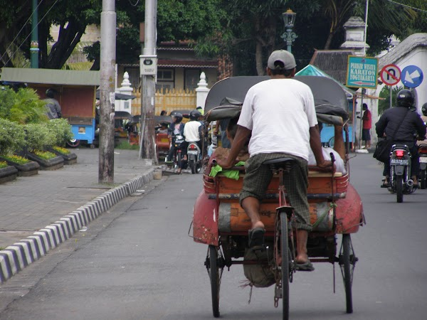 Imagini Indonezia: Jogja transport