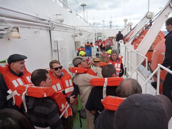Imagini Argentina: repetitia de evacuare