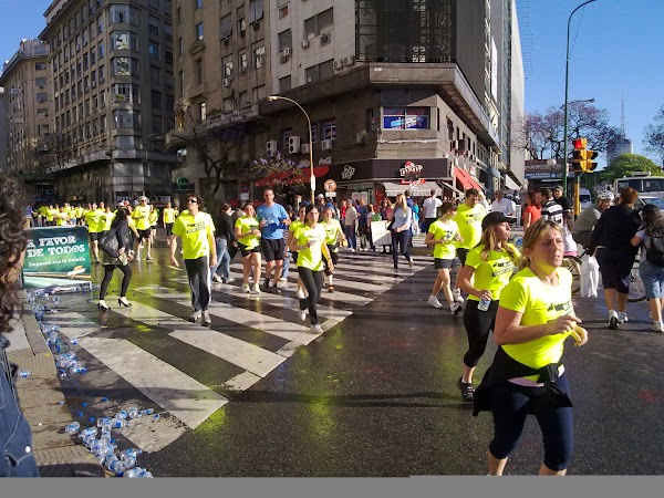 Obiective turistice Argentina: maraton Buenos Aires