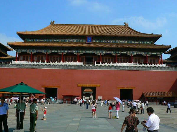 Obiective turistice China: orasul interzis, Beijing