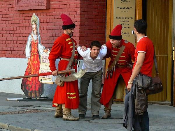 Imagini Rusia: Executie la Muzeul de Istorie, Moscova