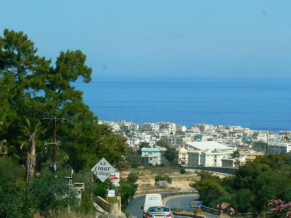 Obiective turistice Cipru de Nord: intrarea in Kyrenia.JPG