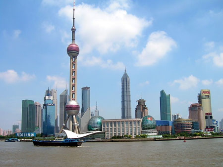 Atractii turistice China: Pudong Shanghai