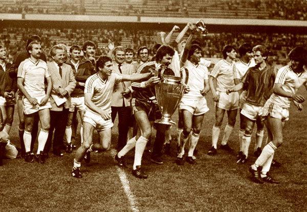 Imagini Sevilla: Steaua 7 mai 1986