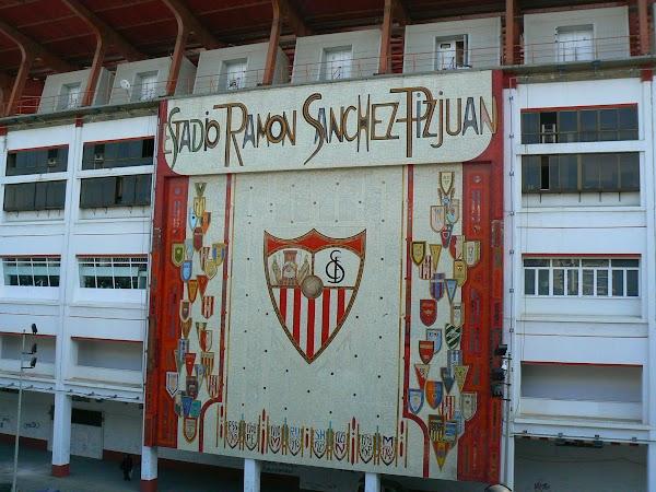 Obiective turistice Spania: Sevilla - 7 mai 1986 Ramon Sanchez Pizjuan.JPG
