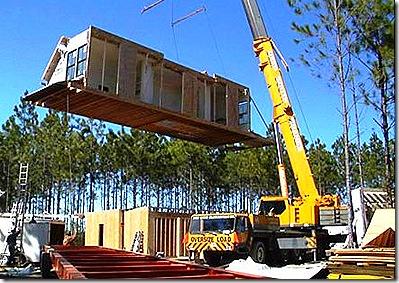 Modular home builder new house starts drop 10 6 in october - Prefab vs modular homes ...