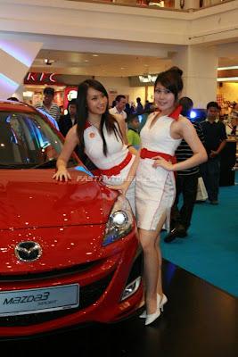Mazda 3 Launch Girl Photo