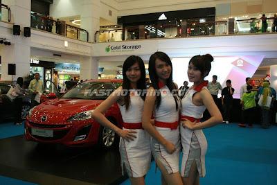 Mazda 3 Launch Girl