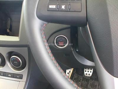 Mazda Axela Start Stop Button