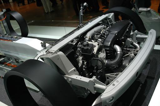 BMW Hybrid Engine