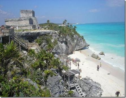 Tulum Quintana Roo Mexico informacion de Piramides