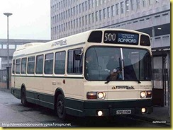 wee bus when she was in service