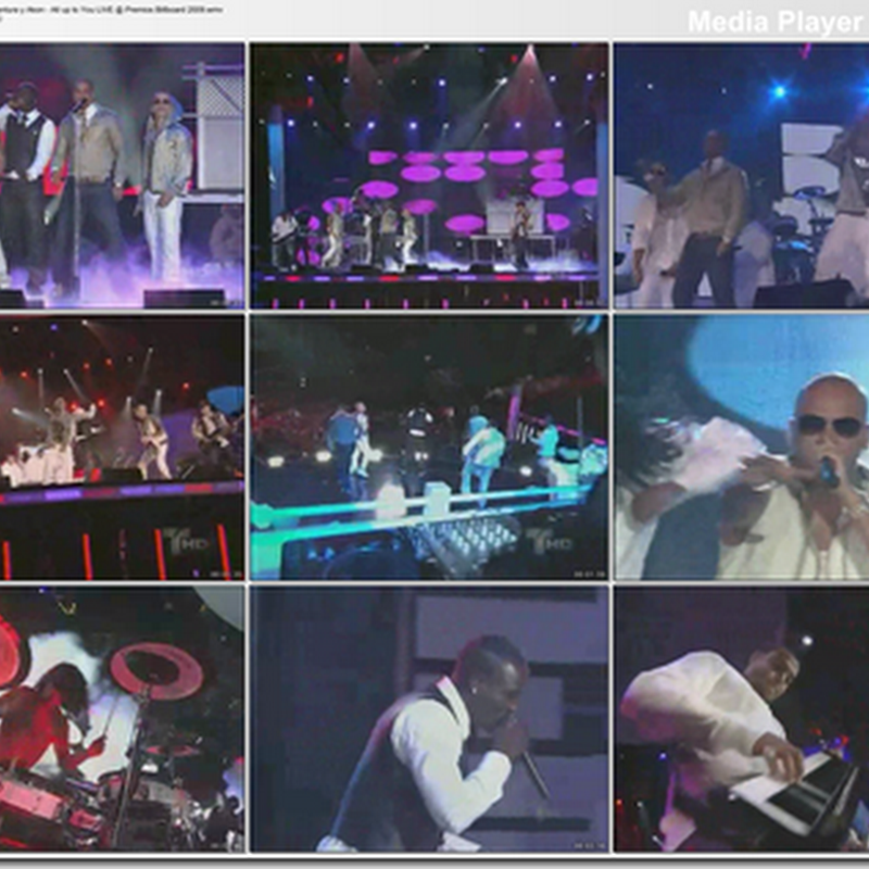 DESCARGAR: All up to You – Wisin & Yandel ft. Aventura y Akon @ Premios Billboard 2009 HQ
